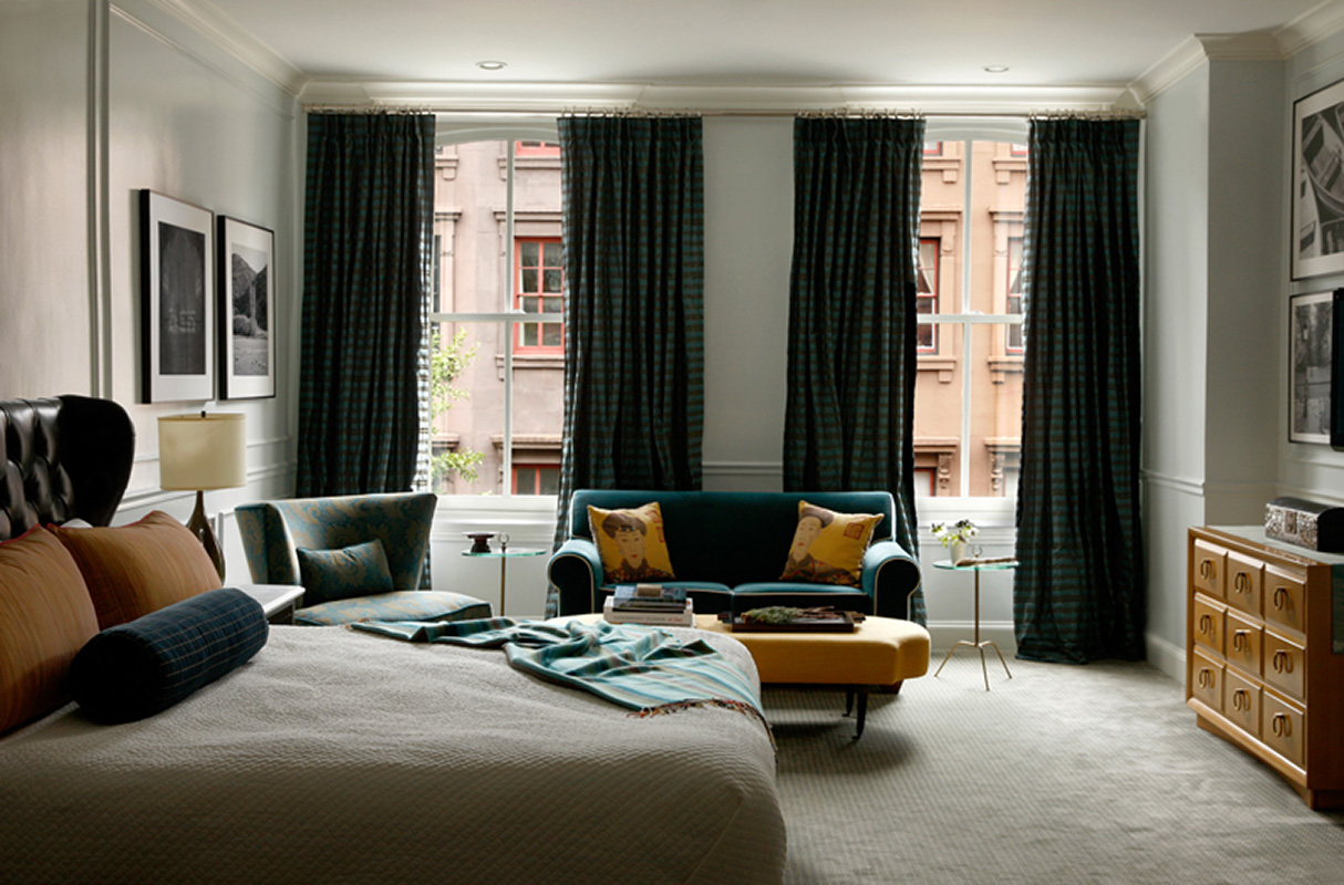 residential interior design philadelphia, curtains, create an environment, rittenhouse square, high end interior design