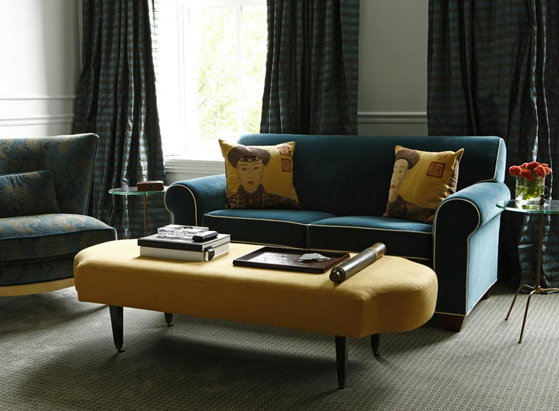 luxury interior design, custom furniture, bespoke interiors, jewel tones, custom design, lifestyle, modernism