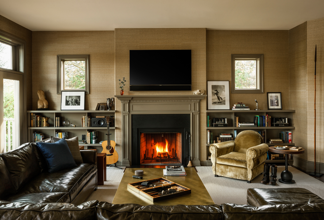 country house, attention to detail, lifestyle, country interior design, fireplace, club chair, furniture, coffee table