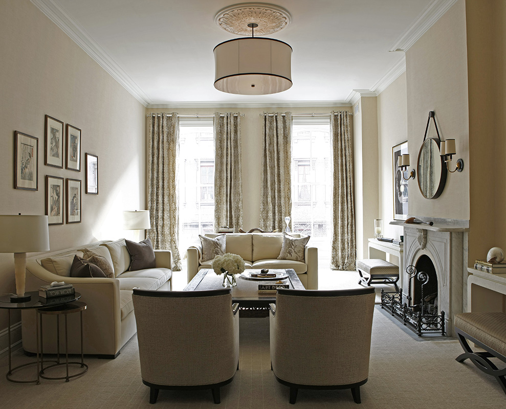 Federal Style, Luxury Townhouse, High End Interior Design, Classy, Elegant  Bespoke Interiors