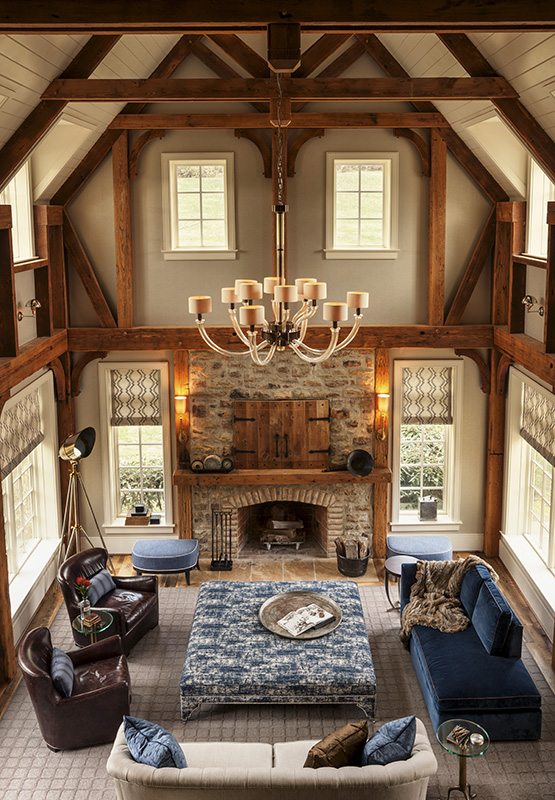 residential, country retreat, interior design and architecture, lighting, fireplace