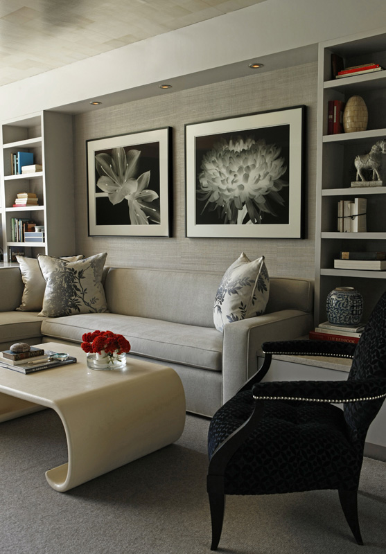 interior design, country house, mix of styles, mountain retreat, renovation, built-in couch, coffee table
