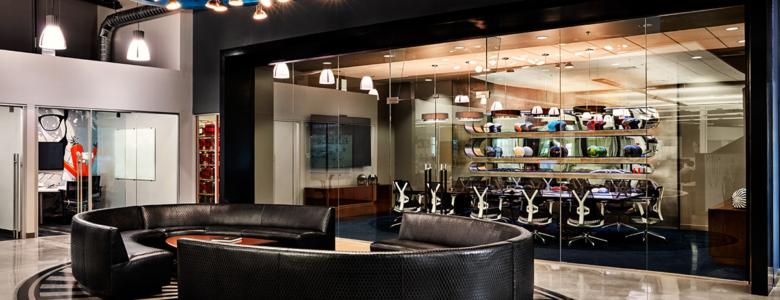 custom interior, commercial office design, comfortable, bespoke interiors, custom finishing, jewel tones